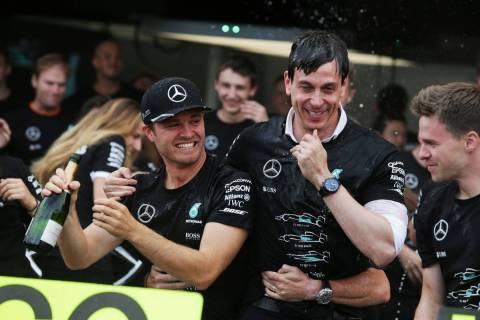 ロズベルグ引退。チームが本人とトップのコメントを掲載した公式リリースを発表  #F1 #f1jp