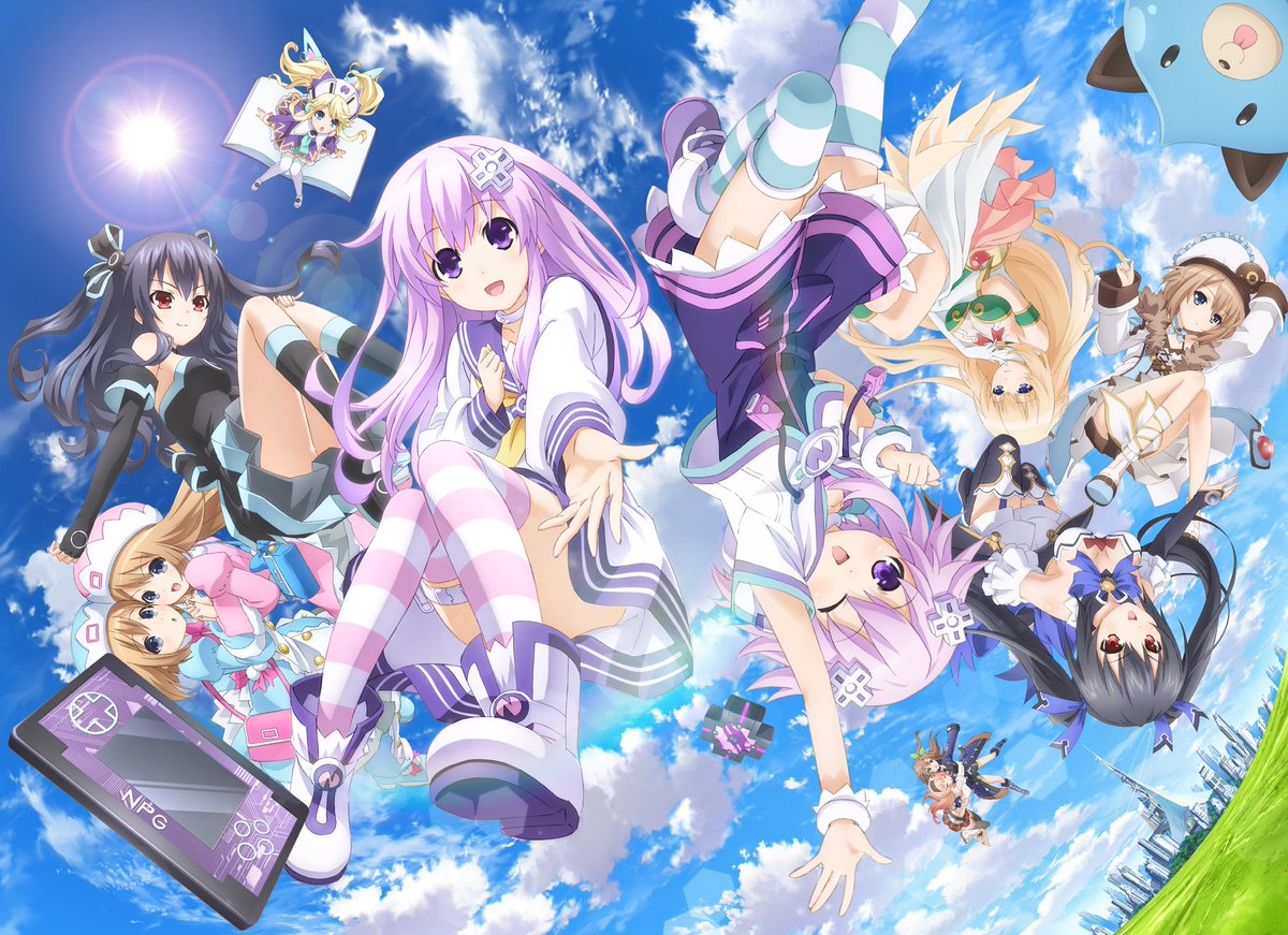 【超次元ゲイム ネプテューヌ】TVアニメ全話をコンプリートしたブルーレイボックスが2017年4月26日(水)に発売決定!
