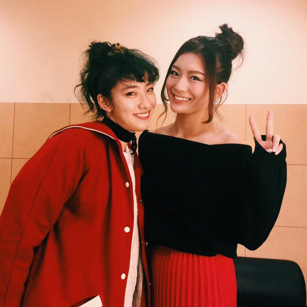 名古屋のTGCnightであみらちゃんに会えたーー!うれしみ( ✌︎'ω')✌︎( ✌︎'ω')✌︎ #ダンガンロンパ