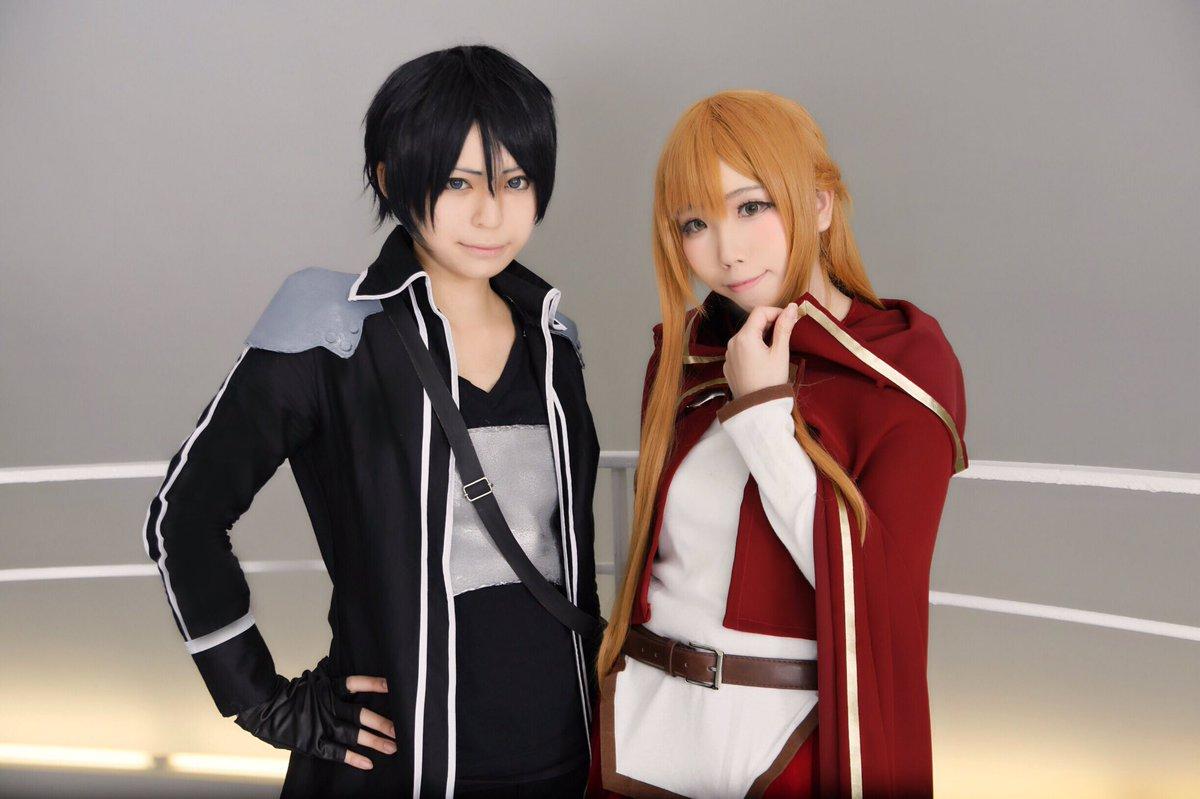 cosplay* キリト/ソードアート・オンライン - Progressive -アスナ: るうちゃんphoto* ①