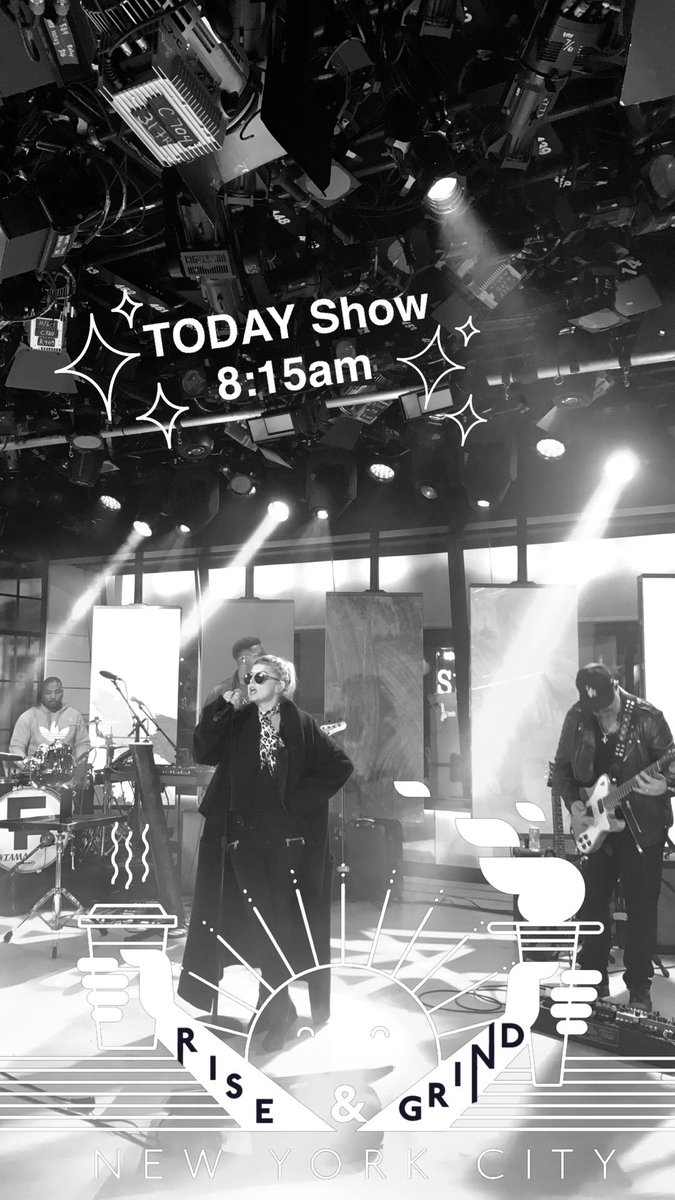 Tag #LifeGoesOn with @Shazam during my @TODAYshow performance for a chance to win something special ???????? https://t.co/27uH1eOQ2K
