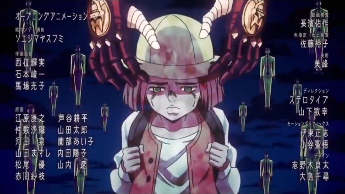 #jojo_anime決意