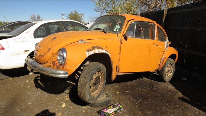 Autoblog @TheRealAutoblog: Junkyard Gem: 1973 @Volkswagen Super Beetle https://t.co/KwHT8QZKrY https://t.co/r8aHBYH8iE