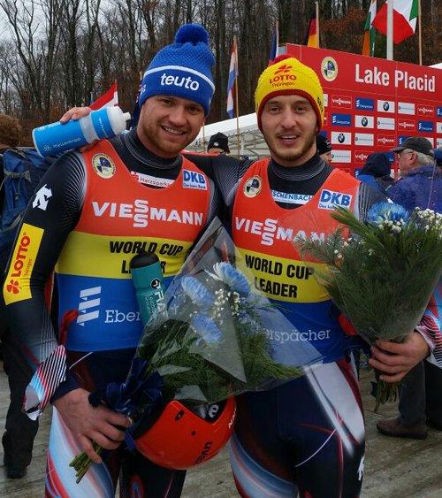 @EggertBenecken mit 19. Weltcupsieg im @Viessmann_Sport Rennrodel Weltcup der Doppesitzer in Lake Placid #LugeLove https://t.co/QgVhg8Kml7
