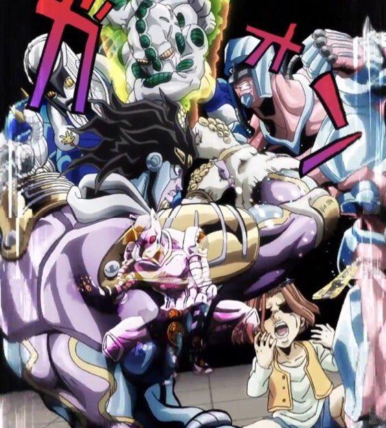 切れ目見えているけど繋げてみた#jojo_anime