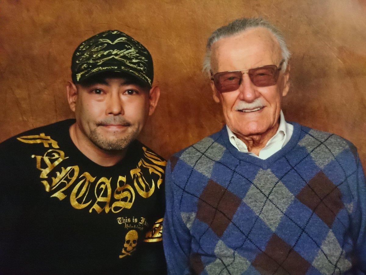 マーベル・コミックの原作者、スタン・リーさんにお会いして来ました!93歳ですがパワフルでした!アメイジング・スパイダーマ
