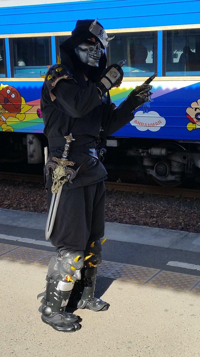 わぁいアンパンマン列車 風虎 アンパンマン列車大好き!(ゆるゆりのあかりちゃん風に)#へそっコス
