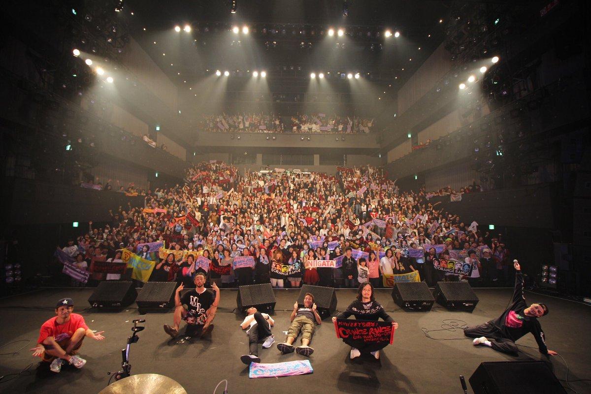 昨日だけど、ORANGE RANGEのライブ行ってきました!めっちゃ興奮した!!🤘楽しかったです、また行きたいですね。