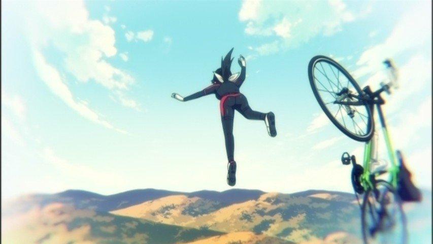 自転車で空を飛ぶアニメこわい #longriders #at_x
