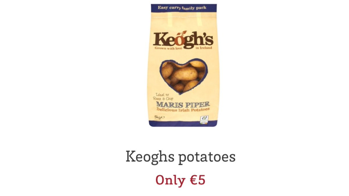 Big Deal on Spuds! https://t.co/vvOwkeL9me