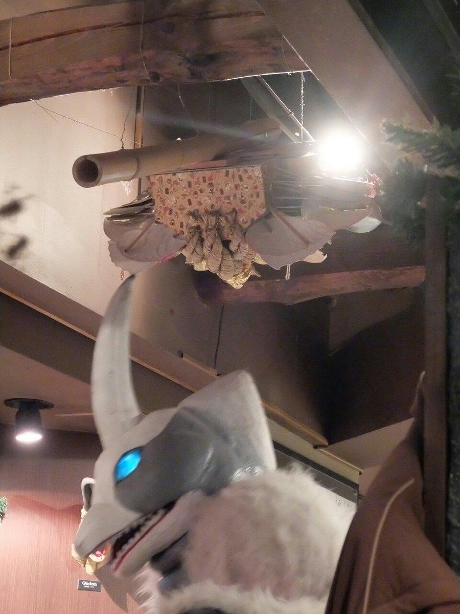 怪獣酒場の熊手に角があたるくらいおっきなスノーゴン