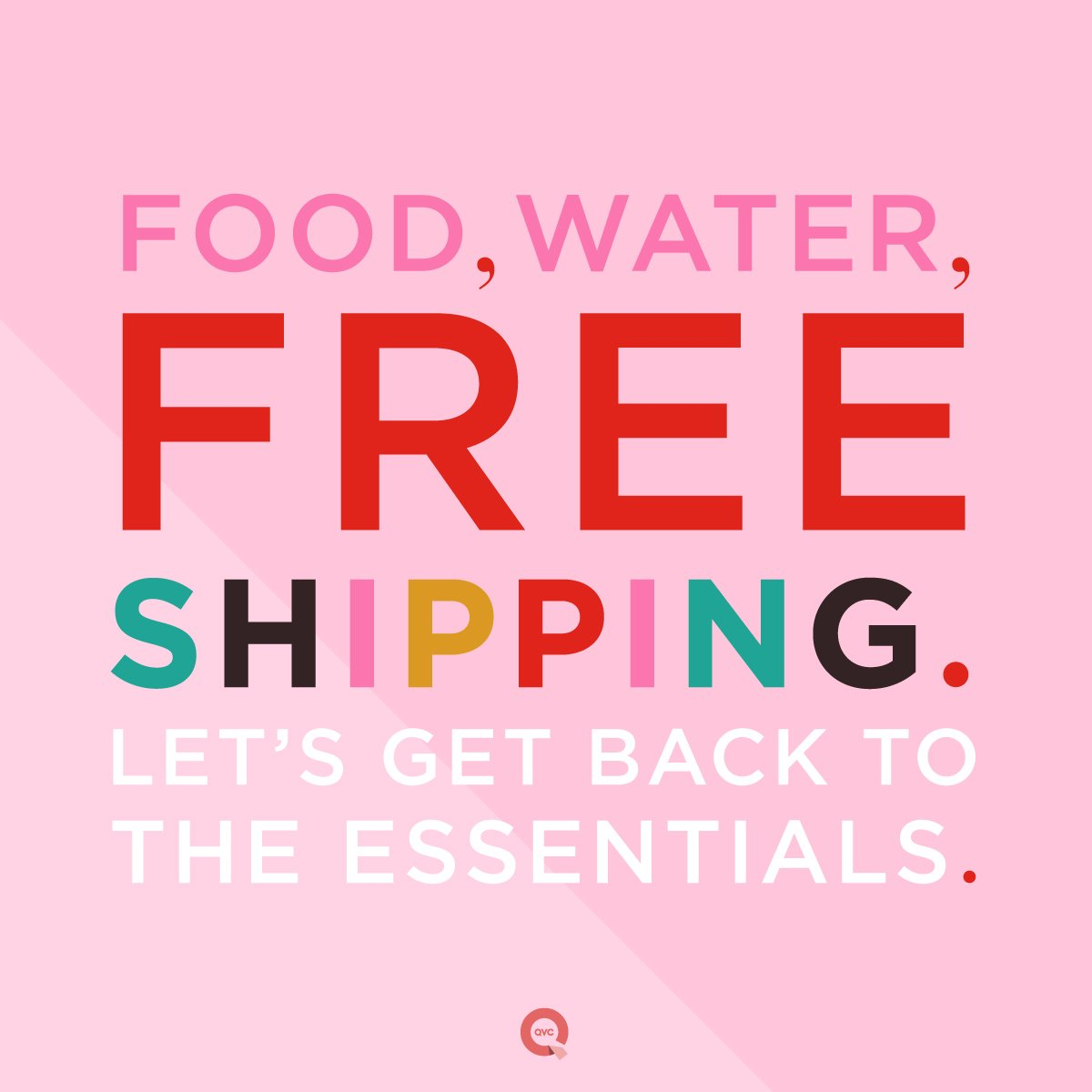 RT @QVC: FREE. SHIPPING. ON. EVERYTHING. GO! > https://t.co/kSBmihxhOb https://t.co/WdzTeEAHX8