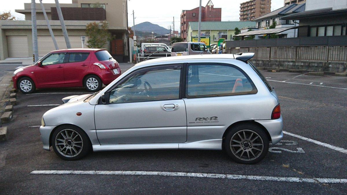 #この車を選んだきっかけ リリカルなのはヴィヴィオ見てたときに存在思い出して、ヴィヴィオって車あったよねって親父に話した