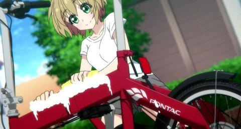 《ろんぐらいだぁす!》7話感想・画像 自転車ってこんな精密メカだったんだな