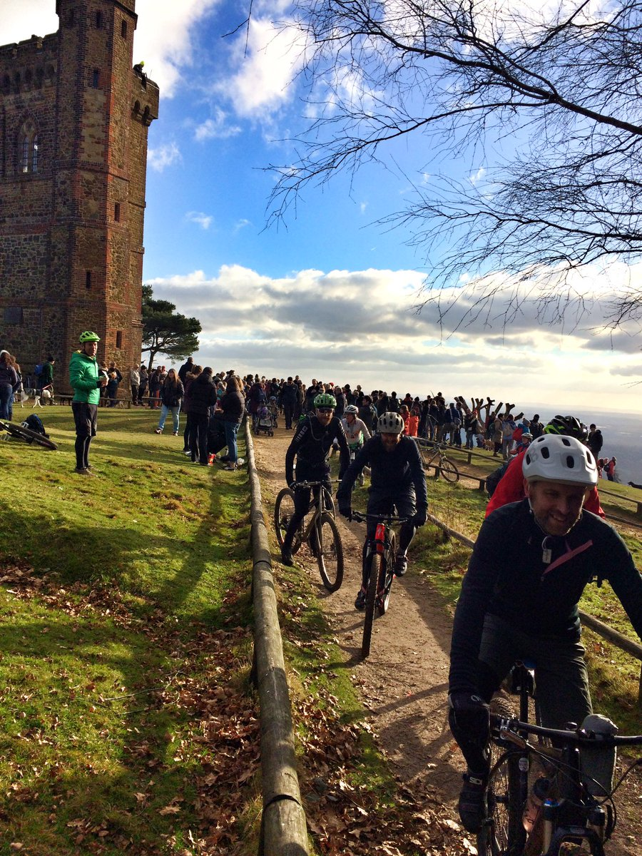 Amazing turn out - families, mtbikers, horse riders, protectors. Even the sun was out in support! #SaveLeithHill https://t.co/O7obnWTwmT