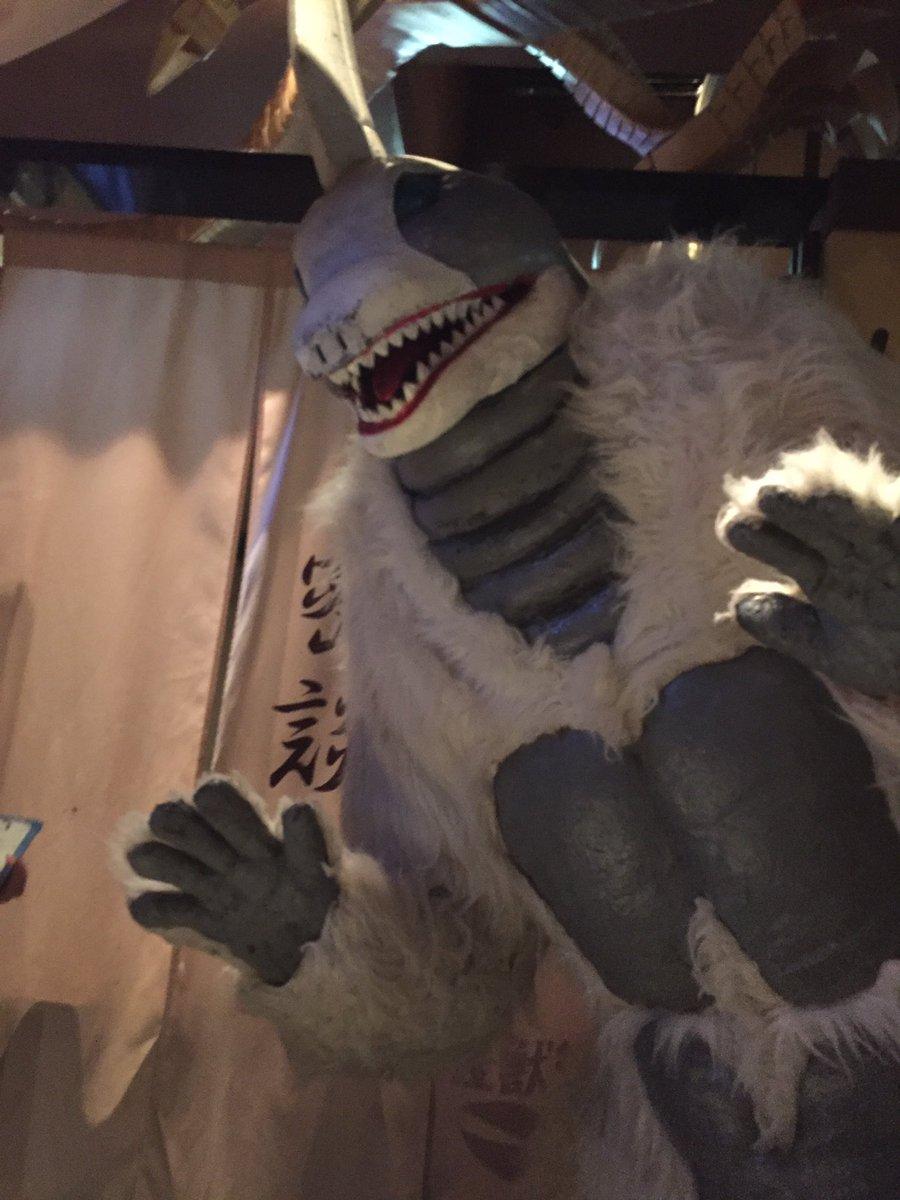 怪獣酒場にてスノーゴンさんに会ってきました。凍らされる!!千切られる!!