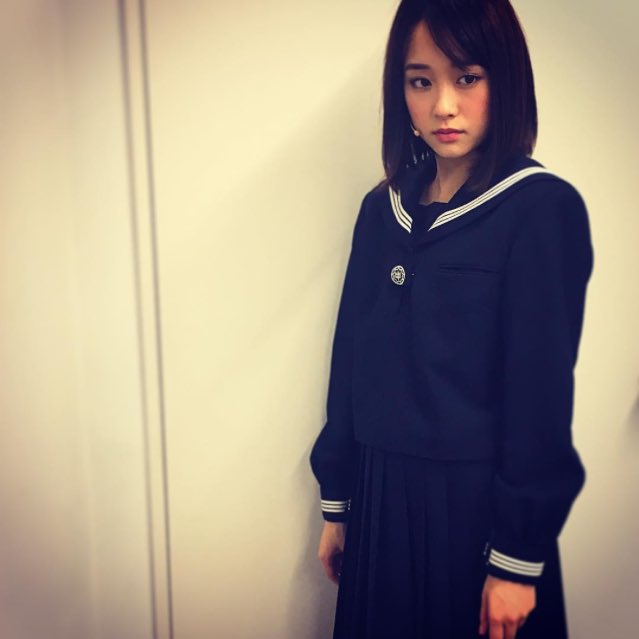 大原櫻子さんはInstagramを利用しています:「セーラー服。 人生で着たかったセーラー服。 わたしは真悟で、しずかと