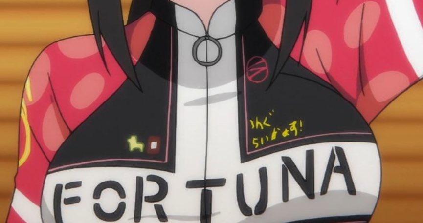 これマジでひどいぞ...場面切り替わる事に胸元のマーク変わるとかスタッフとかどういう思いでアニメ作ってんの?正直今まで笑