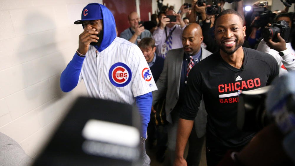 38372d70c  chicagotribune 2 years. lebron james cubs fan nah he just lost a world  series bet with dwyane wade
