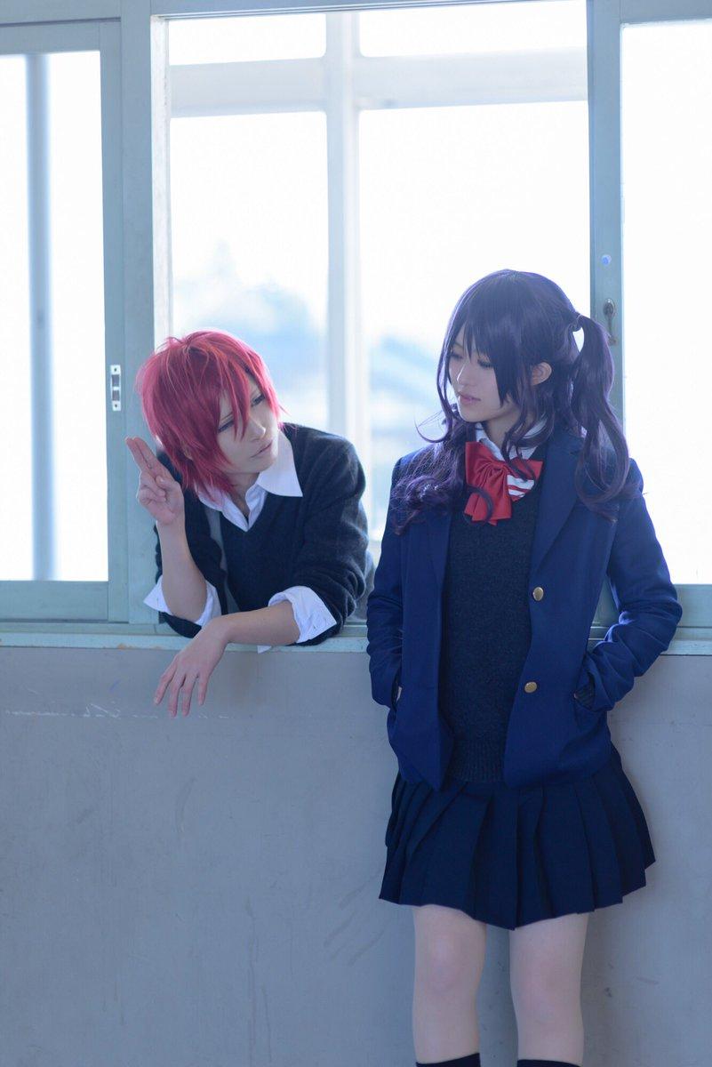 #虹色デイズ #コスプレ まっつん→旭()まりちゃん→セツナ()photo→きんた()