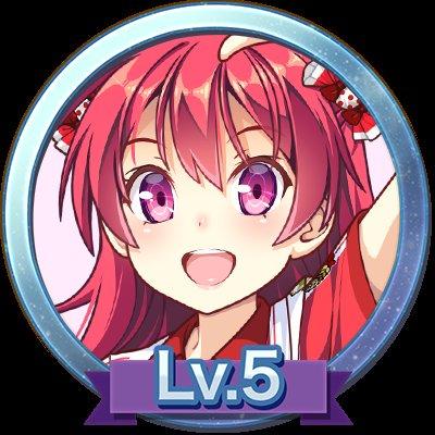 「ビーナスイレブンびびっど!×ハッカドール」コラボバッジLv.5をゲットした! #ハッカドール
