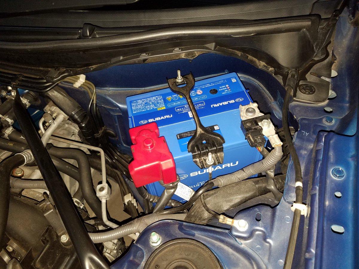 来月から5年目突入のMyBRZ🎉もちろん初期のA型💦バッテリーもよく頑張りました!ということで、バッテリー交換。BLUE