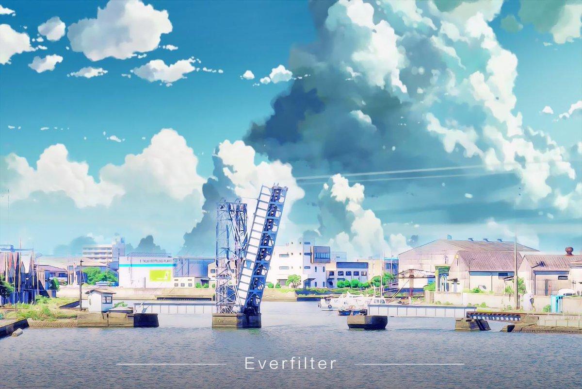 お前が世界のどこにいても、俺が必ず、もう一度逢いに行く。#君の名は #EverFilter を使って、現実世界からマンガ