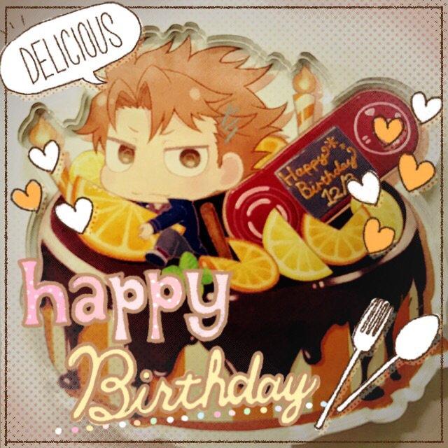 かがりくんお誕生日おめでとうございます!・:*+.\(( °ω° ))/.:+かがりくんはおしゃれにオレンジ&チ