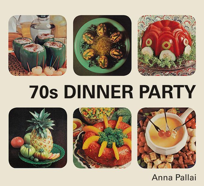 It's Nice That @itsnicethat: 70s Dinner Party - a  nostalgia-soaked book all about the hilarious food from the 70s > https://t.co/gZUIaAjatu https://t.co/HGKU6Hr655