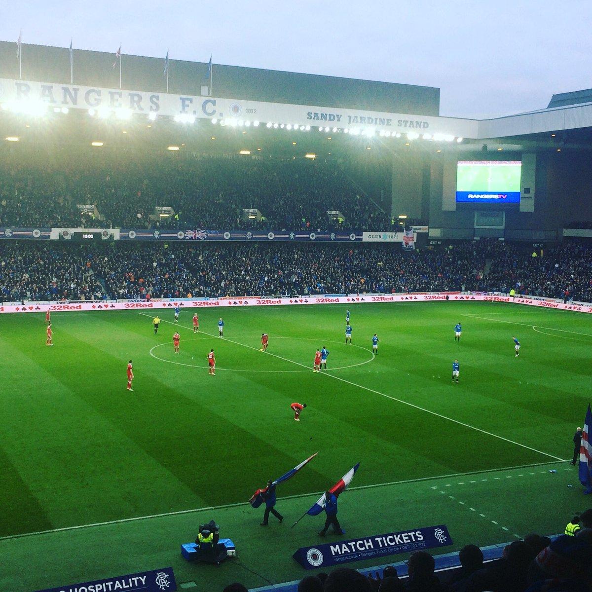 @RangersFC v @AberdeenFC earlier at Ibrox https://t.co/97t9uO9buZ