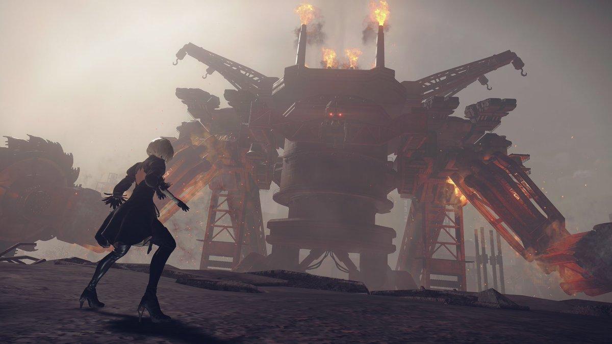 PSXでのプレゼンテーションでもありましたが、『NieR:Automata』体験版近日配信予定です。近いうちに配信日をお