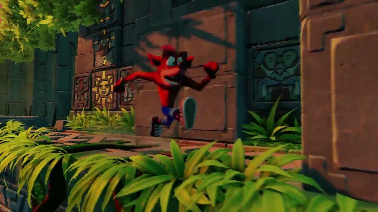 Une des grosses annonces de la #PSX16 hier : le retour de Crash Bandicoot sur PlayStation avec un remake des premiers jeux ! https://t.co/ms7UTyVtjZ