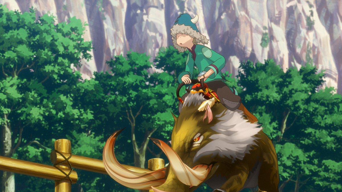 【アニメ】フジテレビほかにて『モンスターハンター ストーリーズ RIDE ON』第10話が放送スタート!つぶやく際はぜひ