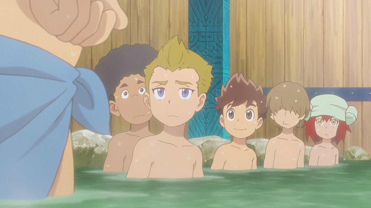 #mhst_rideon #モンスターハンターストーリーズ 10  温泉に入る?!