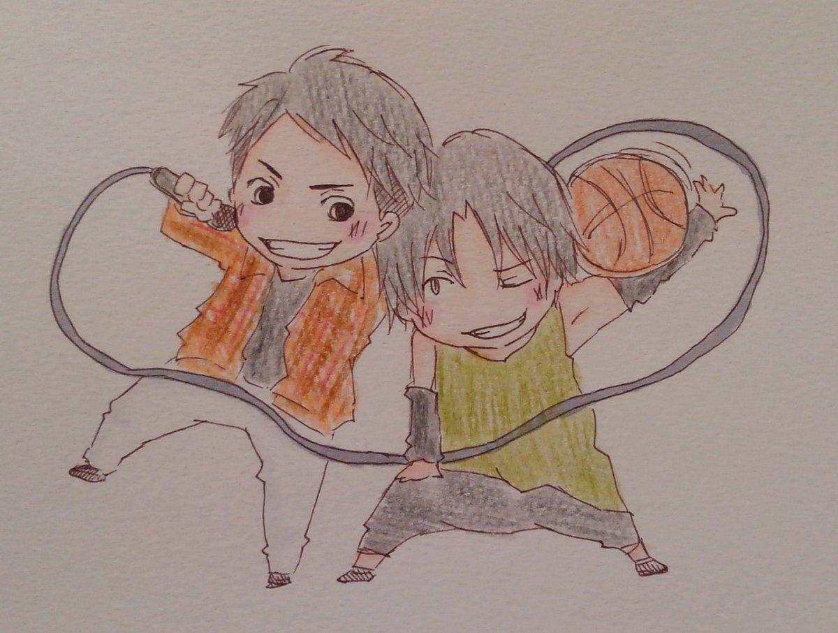 Scribble, and beyondがかっこよすぎて。#OLDCODEX #黒子のバスケ#鈴木達央 #高尾和成  #