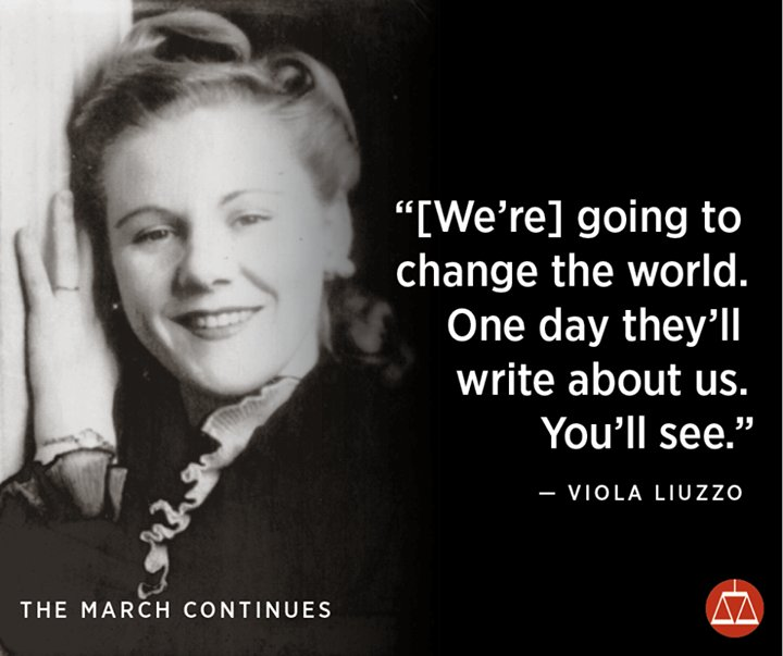 viol liuzzo essay On march 16, 1965, viola liuzzo left detroit, michigan to take part in the voting rights protests in selma, alabama for a little over a week prior to her departure from detroit, liuzzo was terribly disturbed by the news coverage she had seen of the.