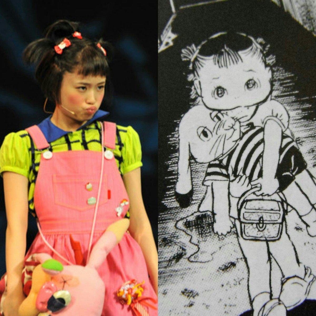 女優って凄いと思う。写真ですら大原櫻子さんはしずかちゃんを演じきってると言っても過言ではないもの。。#わたしは真悟#大原
