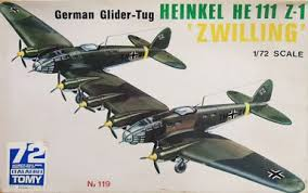もちろんイゼッタの「ツインMS406」は長距離戦闘機ではなくグライダー曳航用に使ってたので、イメージ元はHe111Z-1