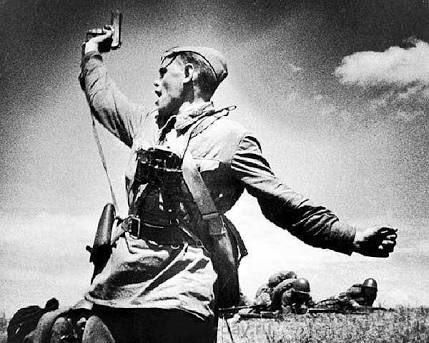 ゲールのファシストめ、モスクワは渡さんぞ!ボルガ連邦万歳!スターリン同志万歳! #izetta