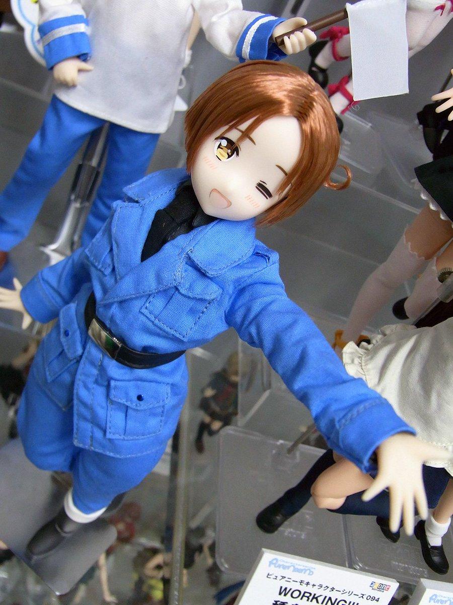 1/6アスタリスクコレクションシリーズ006『ヘタリアThe World Twinkle/イタリア』サンプル展示中! 只