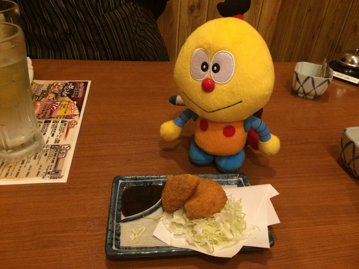 ワガハイ、ミニコロ助ナリ。「浜焼太郎  高岡野村店」さんに行ったナリ。海鮮がメインのお店だけど、コロッケもあったナリよ。