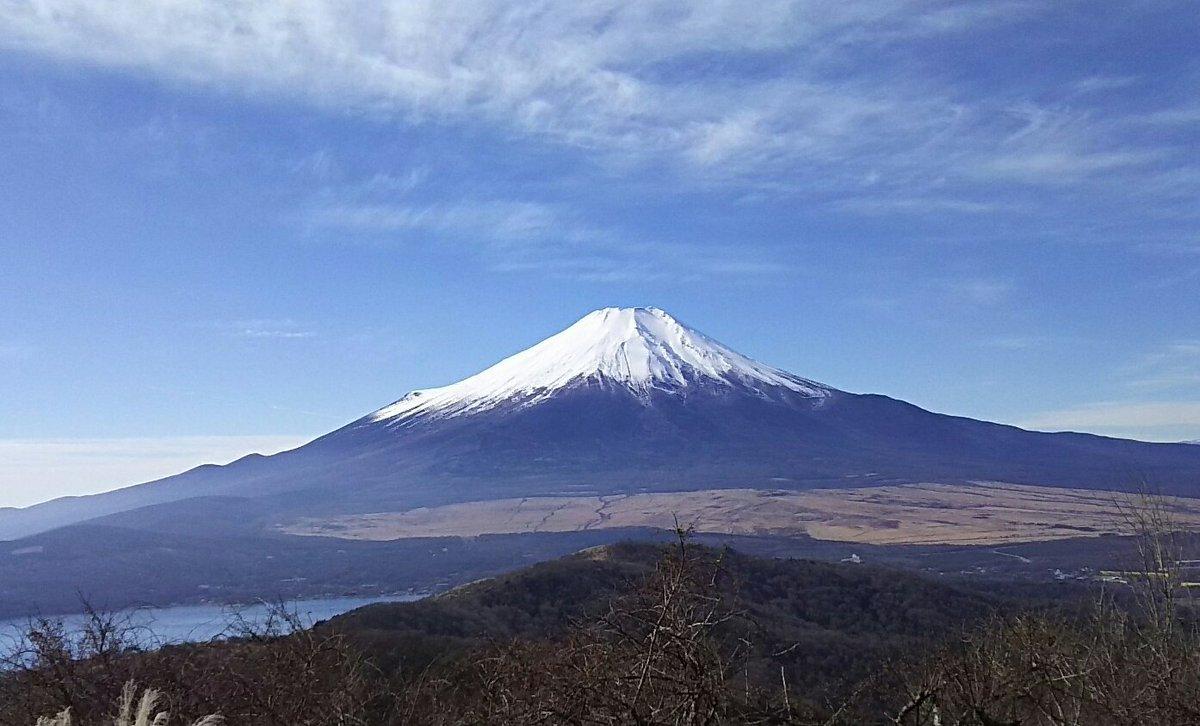 石割山山頂到着!富士山どーん!#ヤマノススメ