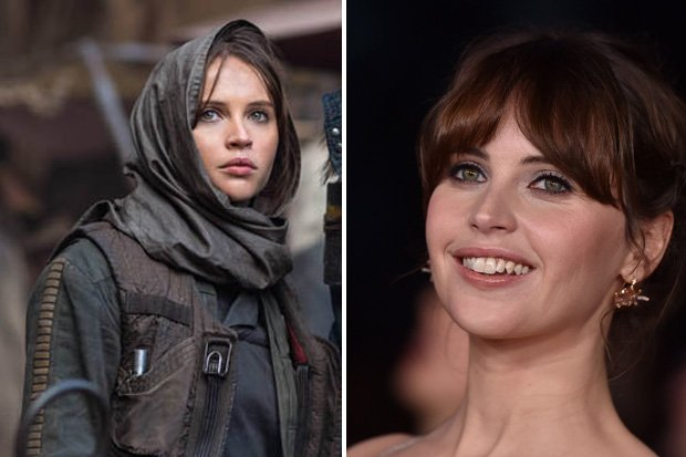 Star wars actress felicity jones porn shock: stars hot