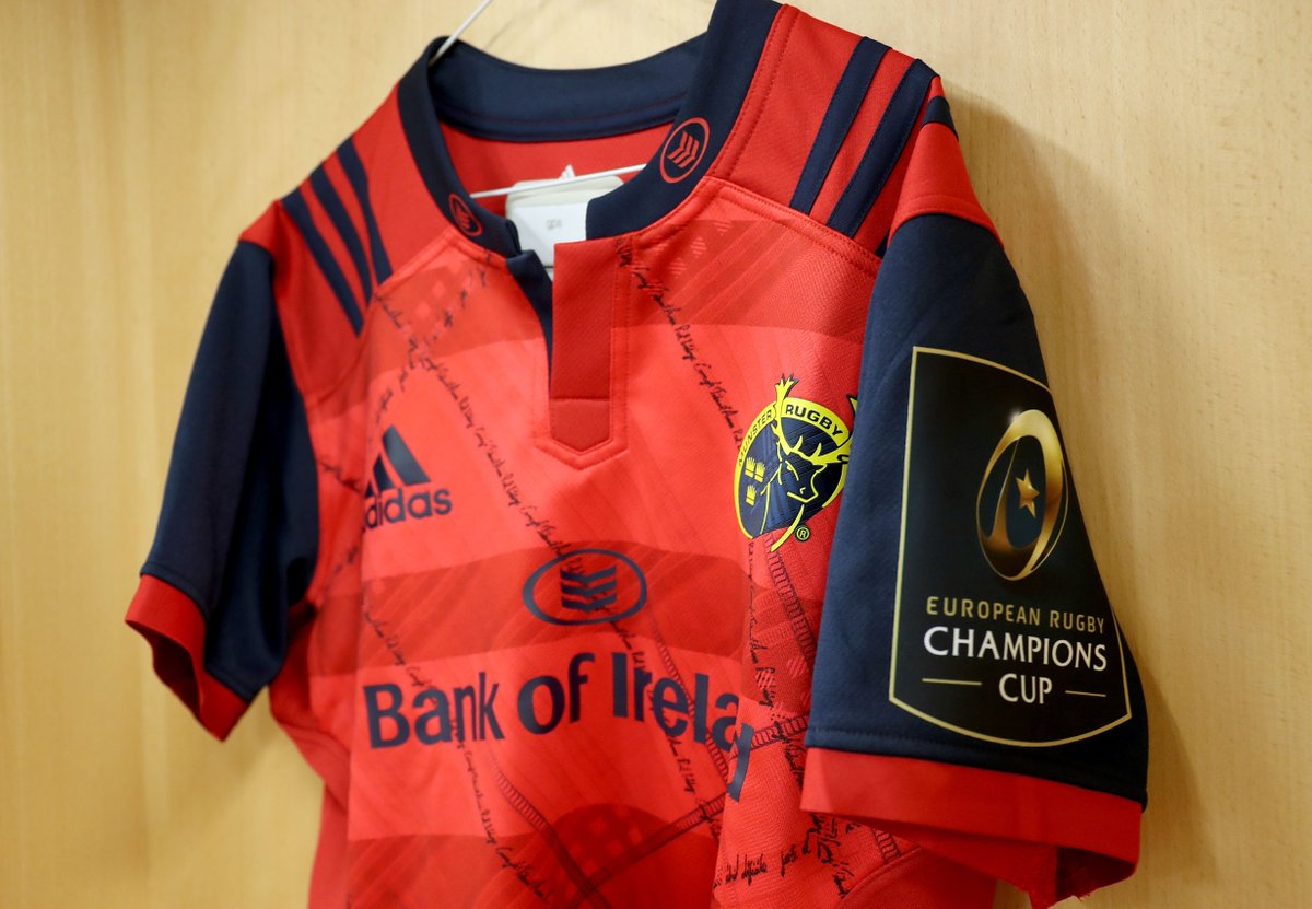 """Forti et Fideli nihil difficile"" is inscribed into this shirt. Tell us what it means to win a prize #MunsterRising https://t.co/IuaGugLIyg"