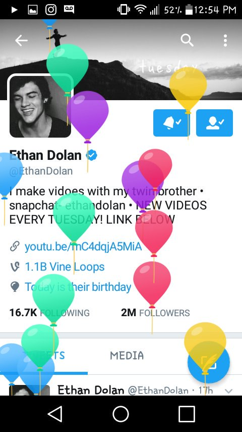 #DolanTwinsturn17  #DolanTwinsBirthday  ��HAPPY BIRTHDAY!�� @EthanDolan @GraysonDolan https://t.co/wEZxuo4dTT