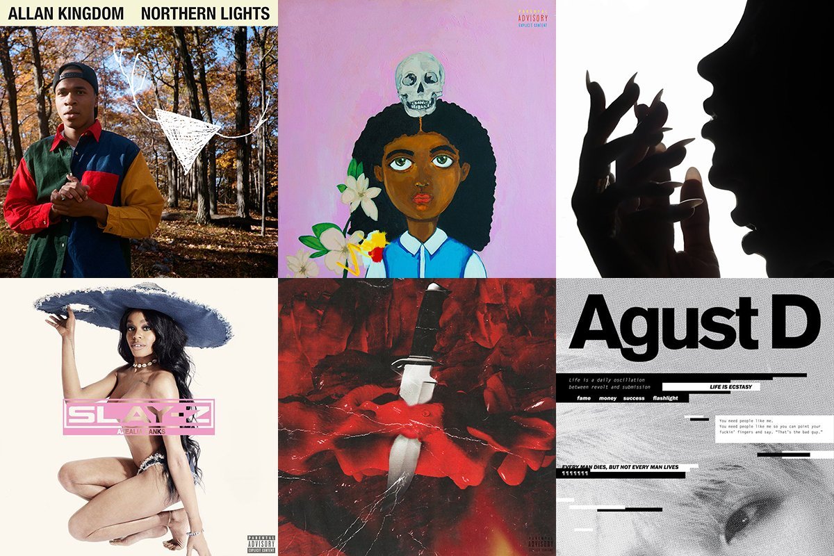 The 20 best mixtapes of 2016: https://t.co/BbCdg2z5ec #AgustD @Tinashe @Noname https://t.co/TfpXYLU284