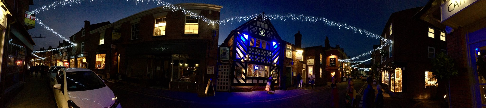 A #Christmas panorama #Knutsford #Cheshire https://t.co/SAOy3DB838