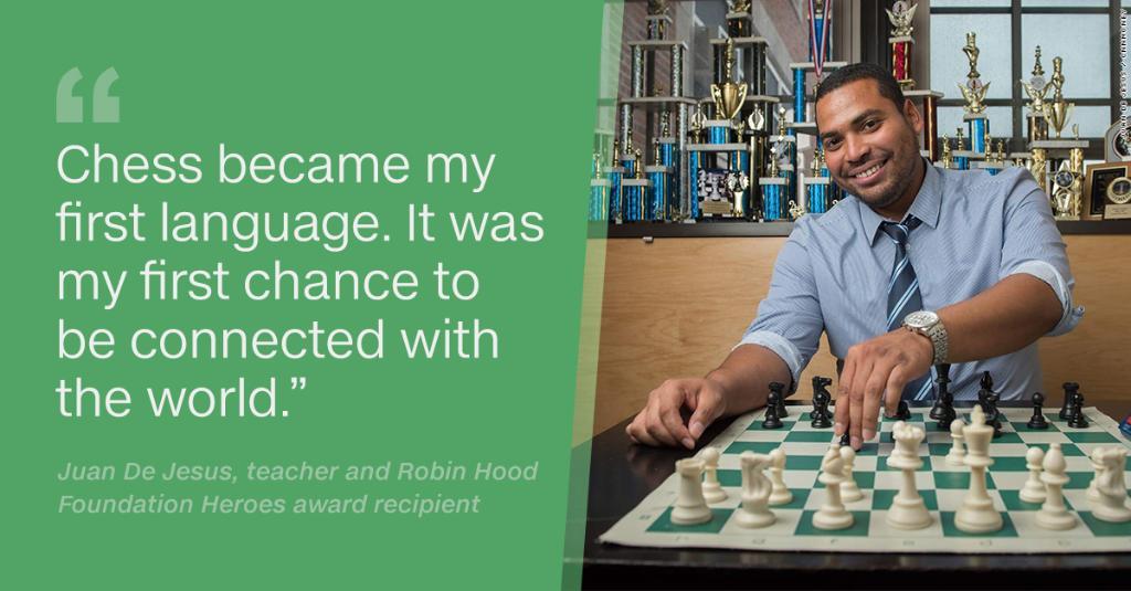 Teacher returns to his Bronx high school to help kids succeed: