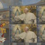 New stamp marks Pope's 80th birthday