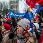 Thousands protest alleged vote fraud, media crackdown in Poland